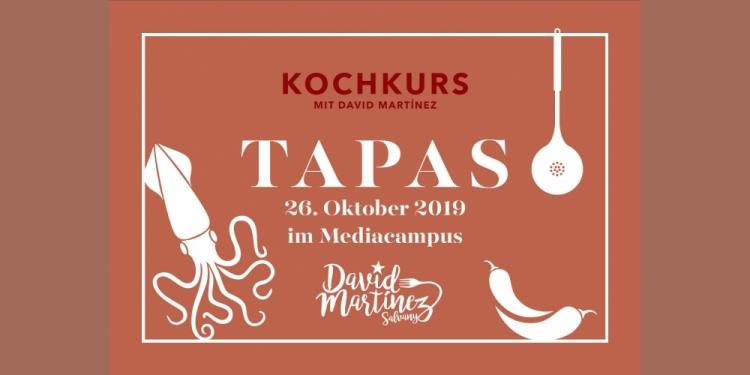 26. Oktober 2019 - Tapas-Kochkurs mit David Martínez