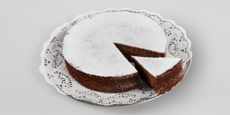 Schokoladenkuchen vom stark catering