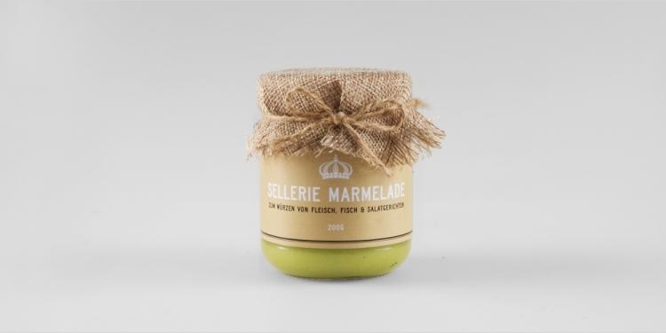 Sellerie-Marmelade von der Krone