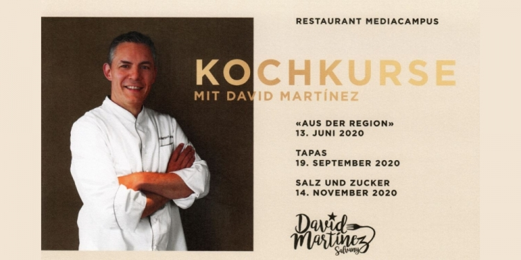 19. September 2020 - TAPAS - Kochkurs mit David Martínez